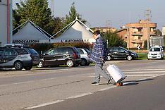 20121022 ATTRAVERSAMENTO A PIEDI STRADA A PONTELAGOSCURO-