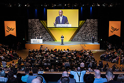 © Licensed to London News Pictures . 16/09/2019. Bournemouth, UK. CHUKA UMUNNA delivers his conference speech at the Liberal Democrat Party Conference at the Bournemouth International Centre . Photo credit: Joel Goodman/LNP
