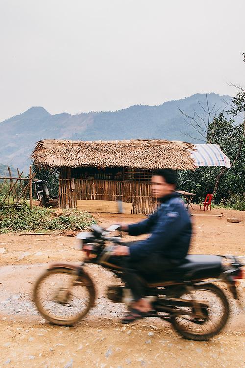 Roadside shop Lao Cai province, Vietnam