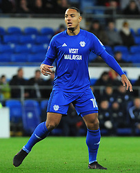 Kenneth Zohore of Cardiff City - Mandatory by-line: Nizaam Jones/JMP - 29/12/2017 -  FOOTBALL - Cardiff City Stadium - Cardiff, Wales -  Cardiff City v Preston North End - Sky Bet Championship