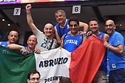 tifosi<br /> Nazionale Italiana Maschile Senior<br /> Eurobasket 2017 - Group Phase<br /> Ucraina Italia Ukraine Italy<br /> FIP 2017<br /> Tel Aviv, 02/09/2017<br /> Foto M.Ceretti / Ciamillo - Castoria
