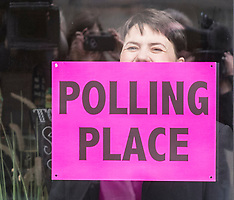 Ruth Davidson votes in local election | Edinburgh | 4 May 2017