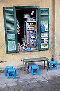 Small Shop in Hanoi, Vietnam.
