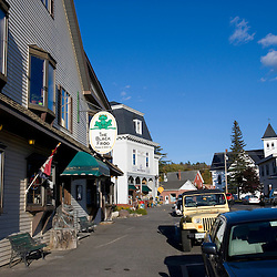 Downtown Greenville Maine USA
