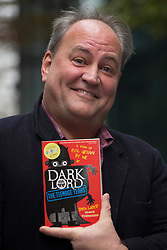 © licensed to London News Pictures. London, UK 06/11/2012. Author Jamie Thomson posing after winning Roald Dahl Funny Prize with his children's book Dark Lord: Teenage Years. Photo credit: Tolga Akmen/LNP