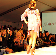 Heather Locklear taking photos of daughter Ava Sambora walking the runway with Richie Sambora and Nikki Lund..Los Angeles Fashion Week Spring/Summer 2011- WTB Collection..White Trash Beautiful Fashion Show by Richie Sambora and Nikki Lund.