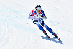 KIIVERI Santeri LW6/8-1 FIN competing in ParaSkiAlpin, Para Alpine Skiing, Super G at PyeongChang2018 Winter Paralympic Games, South Korea.