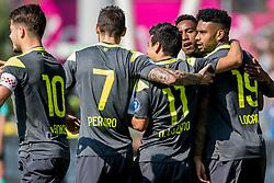 24-09-2017 NED: FC Utrecht - PSV, Utrecht<br /> J&uuml;rgen Locadia #19 of PSV scoort de 1-0