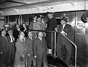 29/09/1954<br /> 09/29/1954<br /> 29 September 1954<br /> Licensed Victuallers Association, Lichfield, Brownhills and Districts, visit to Arthur Guinness and Son., St. James's Gate, Dublin.