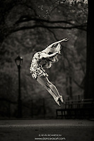 Dance As Art The New York City Photography Project Central Park Black & White Series with dancer Erin Dowd