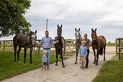 Demeyer Jolien, Devlieghere Christophe, BEL<br /> vlnr. Qupido van 't Landouwehof, Qrazy van 't Landouwehof, Nesquik van 't Landouwehof, Poppy van 't Landouwehof<br /> Fokkerij van 't Landouwehof - Pittem 2020<br /> © Hippo Foto - Dirk Caremans<br /> 27/07/2020