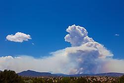 Las Conchas fire in New Mexico