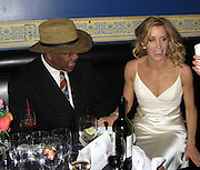 "**EXCLUSIVE**.Smokin Joe Frasier & Felicity Huffman.""Georgia Rule"" Premiere Post Party.China Club.New York, NY, USA .Tuesday, May, 08, 2007.Photo By Celebrityvibe.To license this image call (212) 410 5354 or;.Email: celebrityvibe@gmail.com; ."