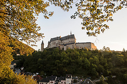The Vianden Castle, in Luxembourg, is a formidable medieval castle, built between 1100 and 1400, and stands sentry high above the charming village of Vianden, on the Luxembourg - German border. (Photo © Jock Fistick)