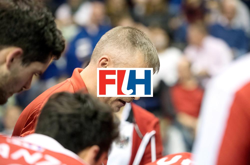 BERLIN - Indoor Hockey World Cup<br /> SF2 Australia - Austria<br /> foto: SZMIDT Tomasz<br /> WORLDSPORTPICS COPYRIGHT FRANK UIJLENBROEK
