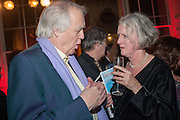 SIR TIM RICE; SARAH CROWDEN, The Literary Review Bad Sex fiction award 2012. The In and Out Club, 4 St. james's Sq. London. 4 December 2012