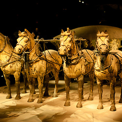 Chariot from the Terracotta Army , Xi'An, China
