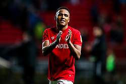 Goalscorer Niclas Eliasson of Bristol City celebrates after a 1-0 victory - Rogan/JMP - 18/01/2020 - Ashton Gate Stadium - Bristol, England - Bristol City v Barnsley - Sky Bet Championship.