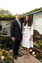 PRINCE ALBERT OF MONACO and RACHEL DE THAME at the 2008 Chelsea Flower Show 19th May 2008.<br />
