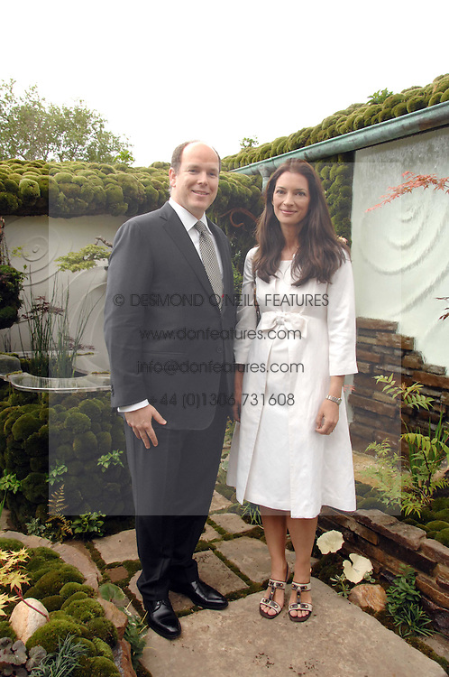 PRINCE ALBERT OF MONACO and RACHEL DE THAME at the 2008 Chelsea Flower Show 19th May 2008.<br /><br />NON EXCLUSIVE - WORLD RIGHTS