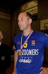 22-04-2003 VOLLEYBAL: PIET ZOOMERS DYNAMO - OMNIWORLD: APELDOORN<br /> Finale play-offs Piet Zoomers wint het landkampioenschap / Martin vd Horst<br /> ©2003-Ronald Hoogendoorn