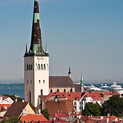 St. Olaf's Church in Tallinn, Estonia