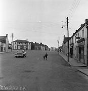 Market Square, Ballyjamesduff, Co Cavan.23/05/1957