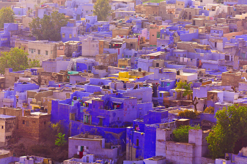 The Blue City, Jodhpur, Rajasthan, India