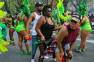 The whine is a common Caribbean dance, and is celebrated during the West Indian  parade along Eastern Parkway in Brooklyn.