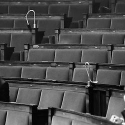 Assemblee Nationale : Bertrand Pancher pendant le debat sur le Grenelle de l'environnement...Mercredi 3 octobre 2007..Photo : Antoine Doyen