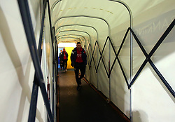 Frank Fielding of Bristol City arrives at the Macron Stadium ahead of the fixture with Bolton Wanderers - Mandatory by-line: Robbie Stephenson/JMP - 02/02/2018 - FOOTBALL - Macron Stadium - Bolton, England - Bolton Wanderers v Bristol City - Sky Bet Championship