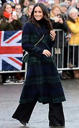 Meghan Markle during a Royal engagement in Edinburgh. Photo credit should read: Doug Peters/EMPICS Entertainment
