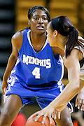 March 3, 2011: Memphis guard Mary Jackson (4) during first half womens Conference USA NCAA basketball game action between the Memphis Lady Tigers and the Central Florida Knights at the UCF Arena Orlando, Fl.