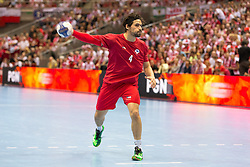 09.04.2016, Ergo Arena, Gdansk, POL, IHF Herren, Olympia Qualifikation, Polen vs Chile, im Bild Erwin Feuchtmann // during the IHF men's Olympic Games handball qualifier between Poland and Chile at the Ergo Arena in Gdansk, Poland on 2016/04/09. EXPA Pictures © 2016, PhotoCredit: EXPA/ Newspix/ Tomasz Zasinski<br /> <br /> *****ATTENTION - for AUT, SLO, CRO, SRB, BIH, MAZ, TUR, SUI, SWE only*****
