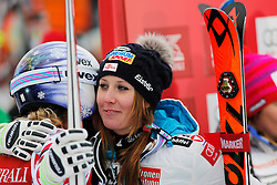 05.12.2015, East Summit Course, Lake Luise, CAN, FIS Weltcup Ski Alpin, Lake Luise, Damen, Abfahrt, Rennen, im Bild Cornelia Huetter (AUT, 3. Platz) // 3rd placed Cornelia Huetter of Austria during the race of ladies downhill of the Lake Luise FIS Ski Alpine World Cup at the East Summit Course in Lake Luise, Canada on 2015/12/05. EXPA Pictures © 2015, PhotoCredit: EXPA/ SM<br /> <br /> *****ATTENTION - OUT of GER*****