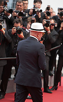 Director Jacques Audiard at the Closing ceremony and premiere of La Glace Et Le Ciel at the 68th Cannes Film Festival, Sunday 24th May 2015, Cannes, France.