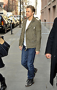 March 25, 2015 - New York City, NY, USA - <br /> <br /> Dancer Derek Hough<br /> <br /> Dancer Derek Hough made an appearance at 'The View' on March 25 2015 in New York City <br /> ©Zuma/Exclusivepix Media