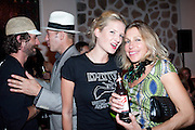 CARTER HUEY; PAUL SIMONON; FIONA SCARRY; MAIA HIRST, Prada Congo Benefit party. Double Club. Torrens Place. Angel. London. 2 July 2009.