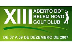 Aberto do Belém Novo Golf Club, de 07 a 09 de dezembro de 2007
