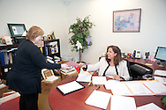 4/26/11 2:56:17 PM -- Blue Bell, Pa. -- Fox Rothschild Attorney Marilou E. Watson at work in the Blue Bell, Pa. office April 26, 2011. -- Photo by William Thomas Cain/Cain Images for Fox Rothschild.