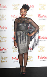 © Licensed to London News Pictures. 27/11/2014, UK. Folami, Naomi Campbell Fashion For Relief Pop-Up Shop - launch party, Westfield London UK, 27 November 2014. Photo credit : Richard Goldschmidt/Piqtured/LNP