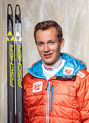 08.10.2016, Olympia Eisstadion, Innsbruck, AUT, OeSV Einkleidung Winterkollektion, Portraits 2016, im Bild Johannes Gschier, Nordische Kombination, Herren // during the Outfitting of the Ski Austria Winter Collection and official Portrait Photoshooting at the Olympia Eisstadion in Innsbruck, Austria on 2016/10/08. EXPA Pictures © 2016, PhotoCredit: EXPA/ JFK
