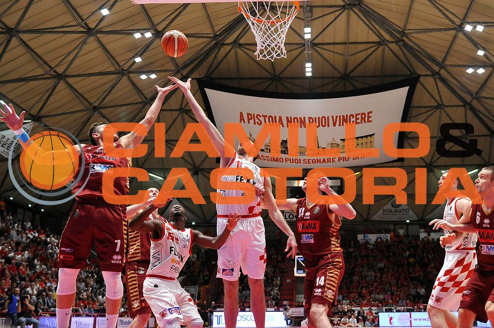 Magro Daniele<br /> The Flexx Pistoia Basket - Umana Reyer Venezia<br /> Lega Basket Serie A 2016/17<br /> Pistoia, 17/05/2017<br /> Foto Ciamillo-Castoria