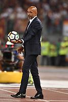 Luciano Spalletti, Inter coach.<br /> Roma 26-08-2017 Stadio Olimpico Calcio Serie A AS Roma - Inter Foto Antonietta Baldassarre / Insidefoto