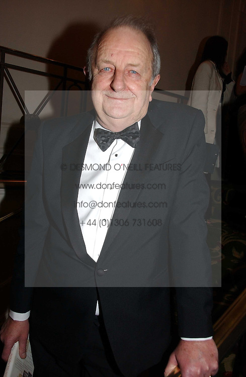 Writer BRIAN THOMPSON at the Costa Book Awards 2006 held at The Grosvenor House Hotel, Park Lane, London W1 on 7th February 2007.<br /><br />NON EXCLUSIVE - WORLD RIGHTS