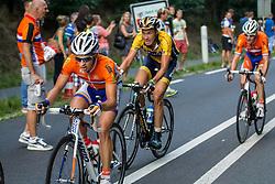 Rhenen, The Netherlands - Dutch Food Valley Classic (UCI 1.1) - 23th August 2013 - Lars VAN DER HAAR (Nationale selectie Nederland) in the leaders group