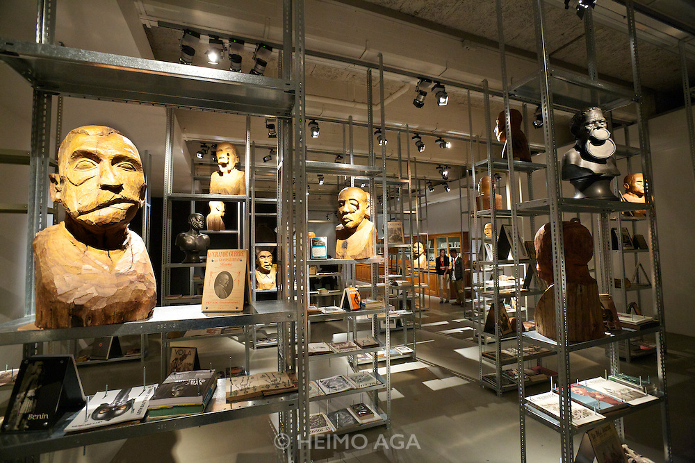 """dOCUMENTA (13) in Kassel, Germany..Friedericianum..Kader Attia. """"The Repair from Occident to Extra-Occidental Cultures"""", 2012."""