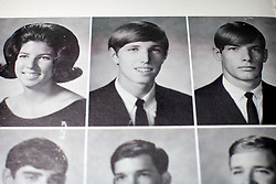 June 7, 2011 - Orlando, FL, USA - TP_339446_FOUN_HARDROCK_21.EDMUND D. FOUNTAIN | Times .(06/07/2011 Orlando) Tom Petty, as seen in his 1968 Gainesville High School yearbook photo. The Hard Rock Cafe's vault where memorabilia not currently on display is stored is a music and pop-culture lover's dream. Inside a non-descript building outside of Orlando is a priceless collection of artifacts from the music and entertainment industry.   [Edmund D. Fountain, Times photo] (Credit Image: © Edmund D. Fountain/Tampa Bay Times/ZUMAPRESS.com)