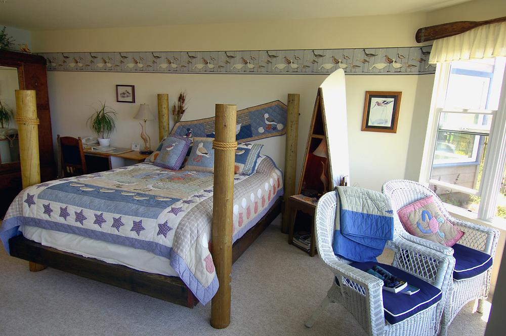 Room at Captains Inn Bed & Breakfast, Moss Landing, California, United States of America