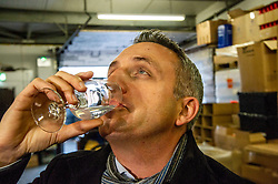 Pictured: Alex Cole-Hamilton <br /><br />Scottish Liberal Democrat campaign chair Alex Cole-Hamilton outlined the party's plans to target new ground such as Edinburgh North and Leith, as well as recapturing the party's traditional Scottish heartlands in the snap election, as he toured a gin distillery in Edinburgh<br /><br />Ger Harley | EEm 25 November 2019
